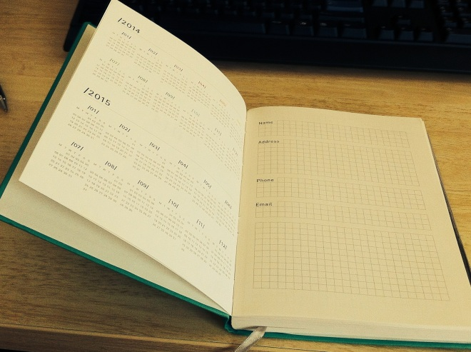 Rubberbrand 2014 Planner