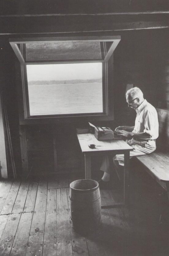 E.B.-White-writer-space