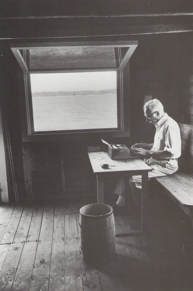 E.B.-White-writer-space