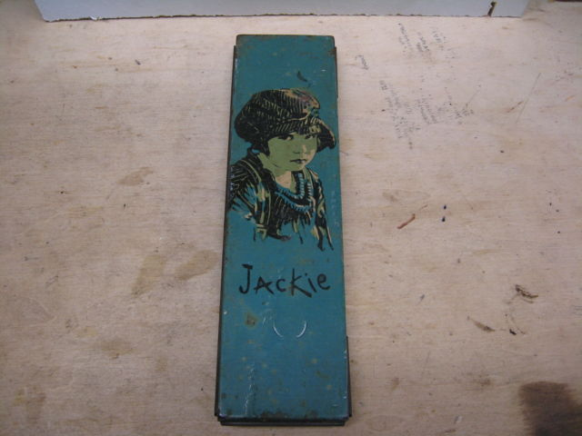 Vintage Canco Beautebox TIN Pencil Box JACKIE RARE TIN